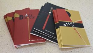 photo of poetry books